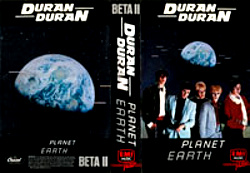 BETA II · EMI MUSIC VIDEO-CAPITOL-AME · USA · No Cat. Number wikipedia duran duran