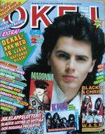 Sweden magazine OKEJ 24 -1985 Kiss Madonna Depeche Mode duran Duran wikipedia