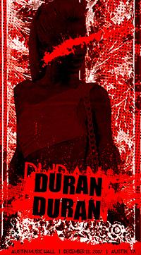 DURAN DURAN AUSTIN MUSIC HALL
