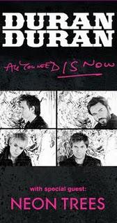 Duran Duran 2011 Tour