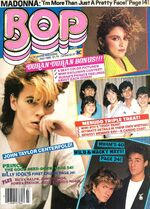BoP TeeN Magazine MADONNA BILLY IDOL DURAN DURAN MENUDO PRINCE RICK SCHRODER WoW wikipedia discography