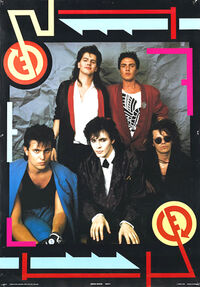 Duran duran poster 1985