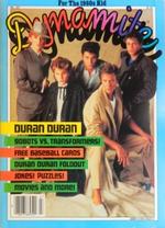1985 DYMAMITE Magazine - Duran Duran, Transformers, TOPPS BASEBALL CARDS wikipedia