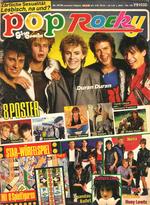 POP ROCKY magazine 24 84- DURAN-duran wikipedia ALPHAVILLE-KISS-SPANDAU BALLET-STAR TREK-SCORPIONS MARILLON band