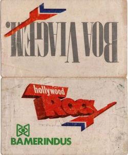 Ticket-Hollywood Rock 1988-Brazil wikipededia duran duran ticket stub