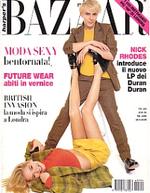 NICK RHODES (DURAN DURAN) HARPER'S BAZAAR ITALY Magazine (8 94) duran