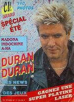 C.v. stars magazine duran duran 1987