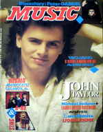 Music magazine duran duran italy