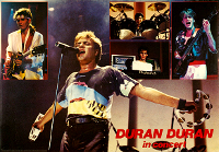 Poster duran duran 1983