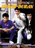 Limited edition magazine 26 duran duran