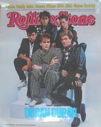 Rolling stone magazine poster duran duran wikipedia 1984 promo poster