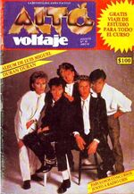 Alto voltaje magazine duran duran no.19 august 1985