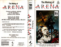 THE MAKING OF ARENA VHS · PMI-EMI · AUSTRALIA · VM 60048 duran duran wikipedia video