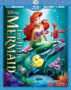 The Little Mermaid Combo Pack