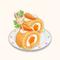 Fluffy Carrot Roll Cake (TMR)