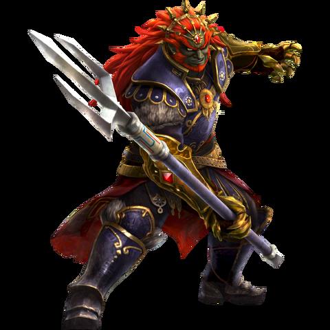 File:Ganondorf Trident - HW.png
