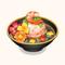 Shrimp Dumpling with Flowers Soup (TMR)