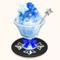 Fuwa-themed Kakigori - Blue Hawaii (TMR)