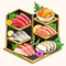 Assorted Rokudan Sashimi (TMR)