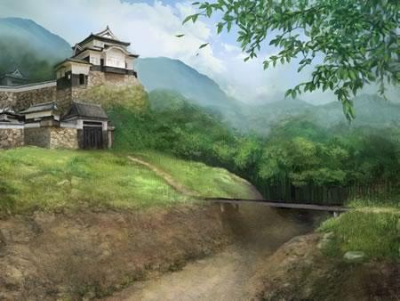 File:Inabayama Castle (SW3).jpg