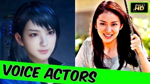 Nioh Voice Actors And Characters - Nioh Cutscenes