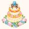 2-Year Anniversary Party Cake (TMR)