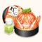 Large Shredded Crab Bento (TMR)