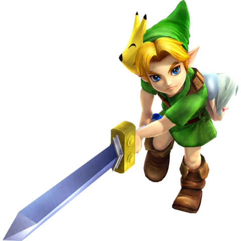 File:Young Link Sword - HW.png