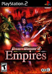 Dynasty Warriors 4 Empires Case