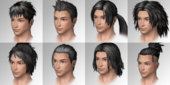 Male Hairstyles (SSM SLASH)
