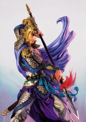 File:Ma Chao Illustration (ROTK12TB).jpg