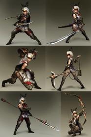 Protagonists - Toukiden