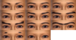 Male Eyebrows (DW7E)