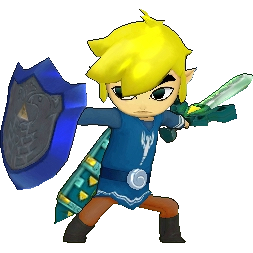 File:Toon Link Alternate Costume (HWL).png