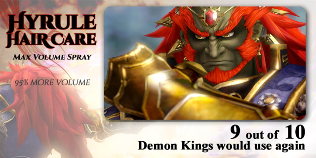 File:Ganondorf Hyrule Hair Care - HW.png