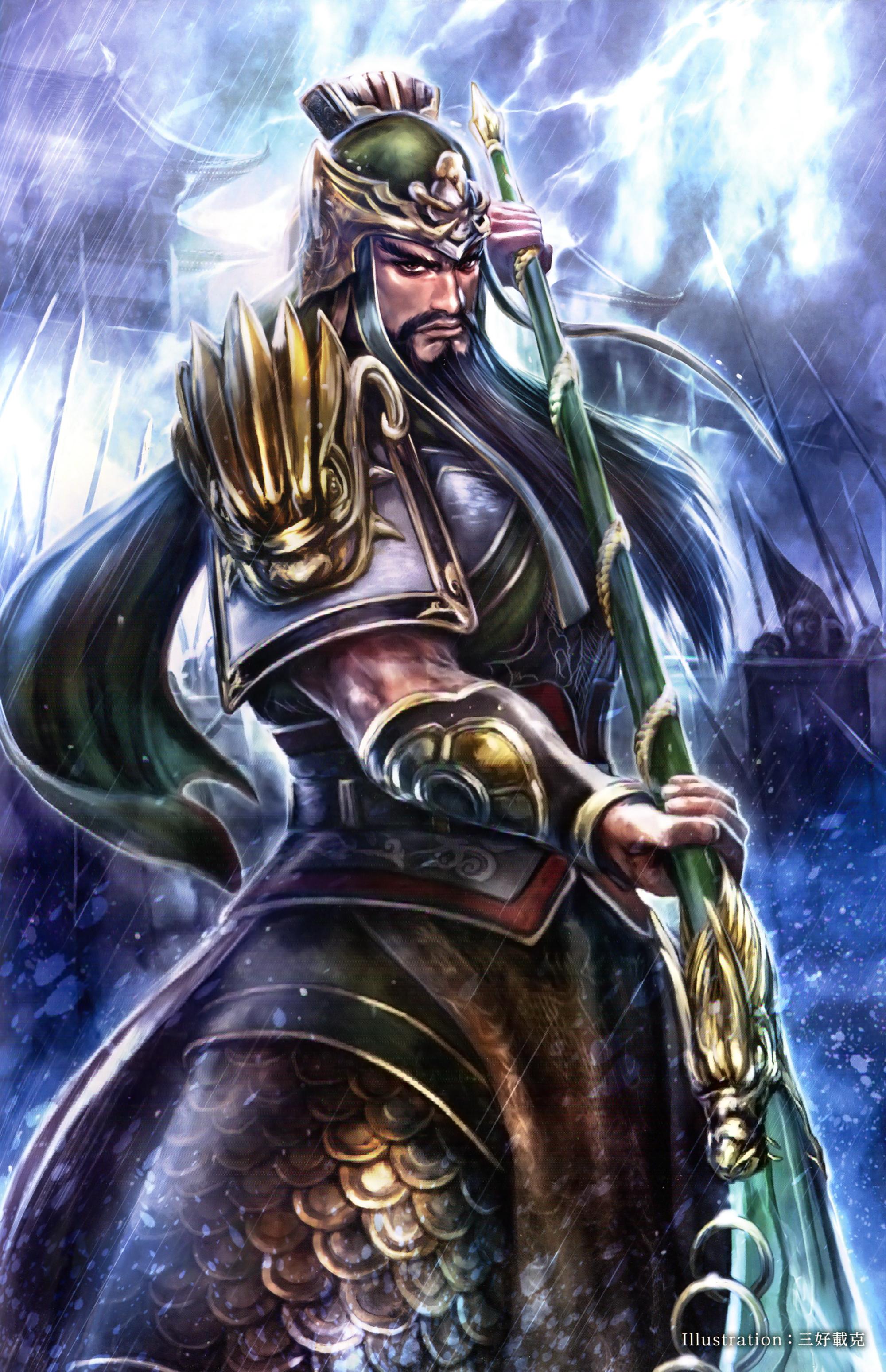 Talk:Guan Yu | Koei Wiki | FANDOM powered by Wikia