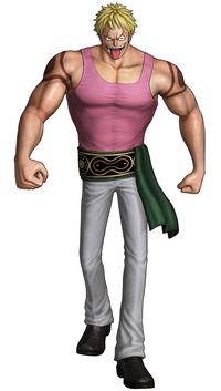 Bellamy Pre Timeskip Pirate Warriors 3