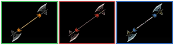 DW Strikeforce - Cross Halberd