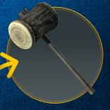 Builder's Wooden Mallet (DQH2 DLC)