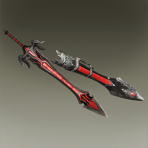 File:Apocalyptic Sword and Shield (TKD2 DLC).jpg