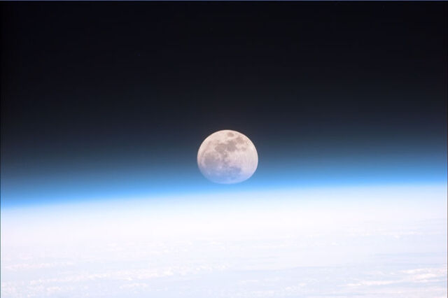 File:Full moon partially obscured by atmosphere.jpg