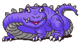 Chomposaur Battle Sprite