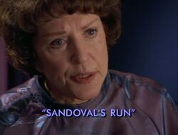 Sandovals run title