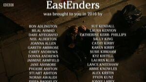 EastEnders 2016 End of Year Credits (27 December 2016)