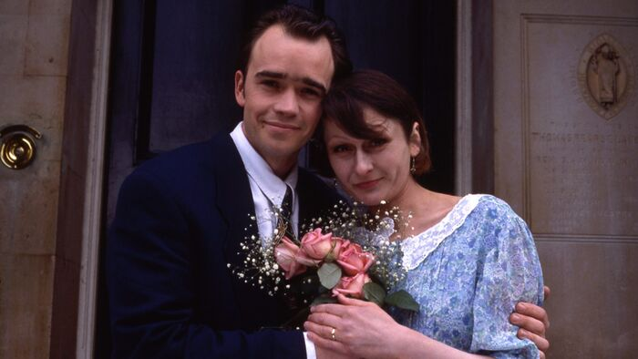 Mark Fowler and Gill Fowler Wedding (1992)