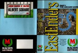 Eastenders Arcade Game - Cover (1987)