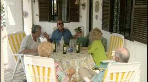 Terry, Pat, Peggy, Frank & Roy in Spain - EastEnders - BBC