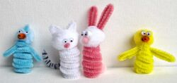 Easter-finger-puppets