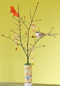 Easy Easter Tree Craft