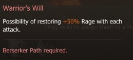 S Warrior's Will